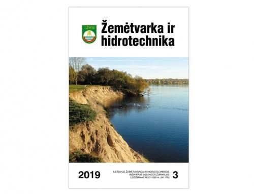 """Žemėtvarka ir hidrotechnika"" 2019 m. Nr.3"