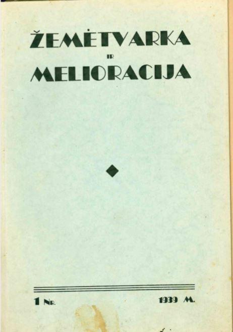 1939 m. Nr-1